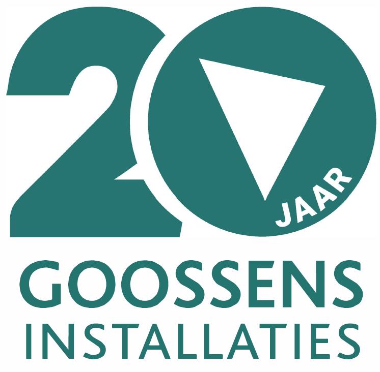 Hoera, Goossens Installaties bestaat 20 jaar!